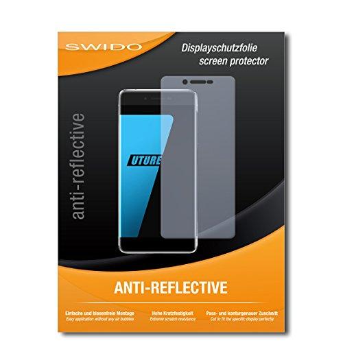 SWIDO Schutzfolie für Ulefone Future [2 Stück] Anti-Reflex MATT Entspiegelnd, Hoher Festigkeitgrad, Schutz vor Kratzer/Bildschirmschutz, Bildschirmschutzfolie, Panzerglas-Folie