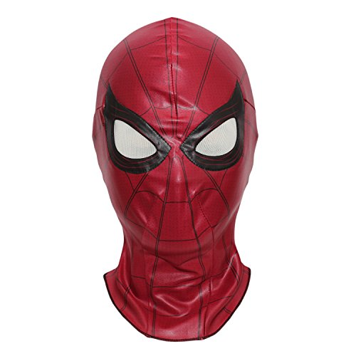 Spiderman Mask Homecoming Costume Cosplay Hood Adult (Homecoming)