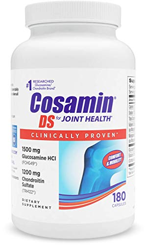 Cosamin DS #1 Researched Glucosamine & Chondroitin Joint Health Supplement, 180 Capsules