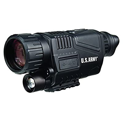 U.S. Army US-NVM405 Digital Night Vision Recording Monocular 5x40 (Black) from Bower Camera :: Night Vision :: Night Vision Online :: Infrared Night Vision :: Night Vision Goggles :: Night Vision Scope