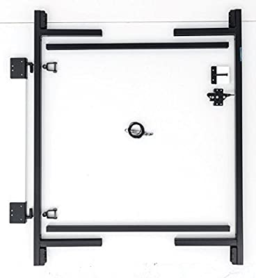 "Adjust-A-Gate Steel Frame Gate Building Kit (36""-60"" wide openings, 5' - 6' high fence)"
