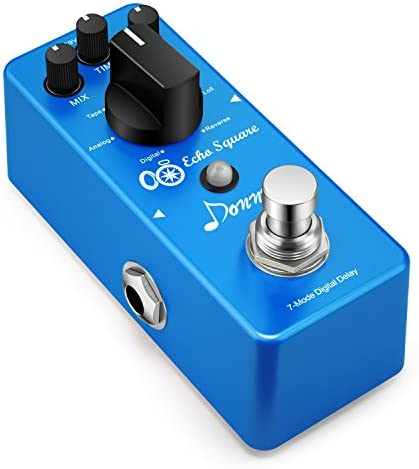 Donner Multi Digital Delay Pedal Echo Square Guitar Effect Pedal 7 Modes product image