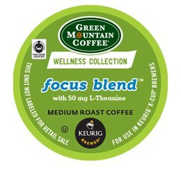Green Mountain Wellness Collection Focus Blend K-Cup Coffee - 96 Count