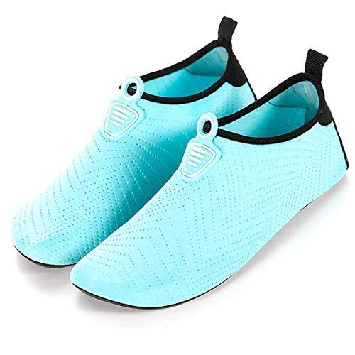 Unitysow Scarpe da Immersione Uomo Donne Bambini Estate Scarpe da Acqua a Piedi Nudi Traspirante Asciugatura Rapida Scarpe da Spiaggia Ragazzi Ragazze per Beach Nuoto Surfing Yoga Sport Acquatici