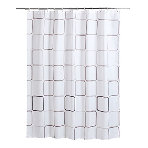 shaneundshaina Klassische Block lang groß größe wasserdicht duschvorhang hängen Vorhang (Klassische Block, höhe:200cm/78.74in;breite:260cm/102.36in)