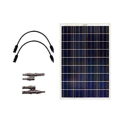 Grape Solar GS-100-EXP Solar Panel, 100W, Aluminum