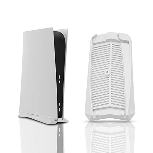 PS5 Stand, Vertical Stand for PS5 Disc Edition - White