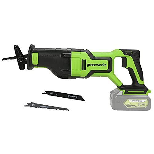 Greenworks 24V Brushless Reciprocating Saw, Battery Not Included RS24L00
