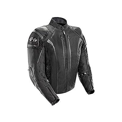 Joe Rocket 1651-5008 Atomic Men's 5.0 Textile Motorcycle Jacket (Black, 4X-Large)