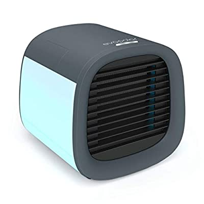 Evapolar evaCHILL New Personal Evaporative Air Cooler and Humidifier, Portable Air Conditioner and Fan, Urban Grey