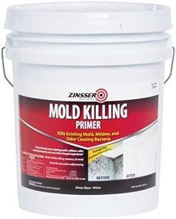 RUST-OLEUM 276088 Zinsser Mold Killing Primer, 5 Gal, Liquid, White