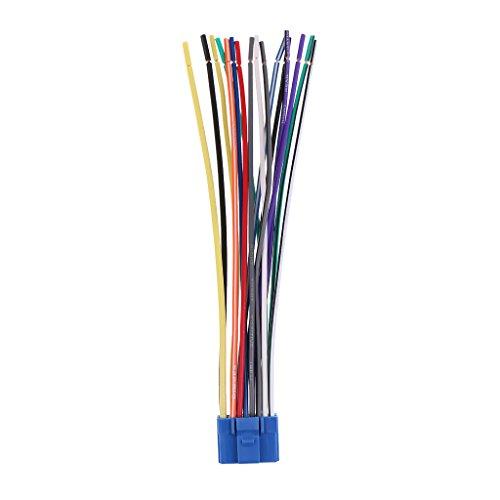 balikha Cable de Mazo de Cables de Altavoz de Potencia de Radio de Coche a 16