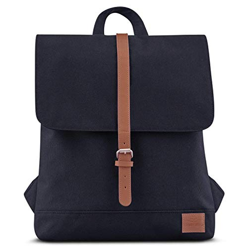 Backpack Women Black Brown- Johnny Urban MIA Rucksack from Recycled...