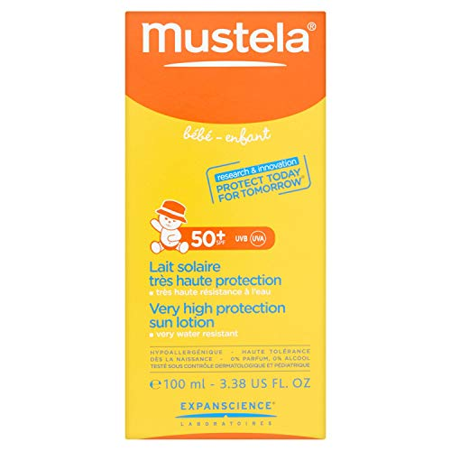 Mustela Lait Solaire SPF50+ Tube 100 ml