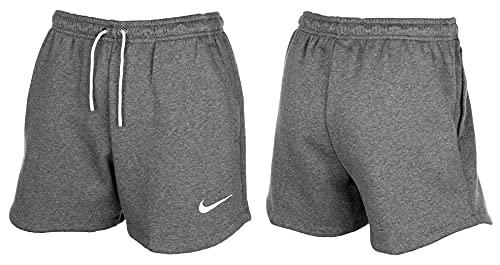 Nike Team Club 20 Short Women Pantaloncini Eleganti, Carbone Melange/Bianco/Bianco, M Donna