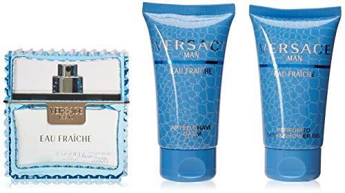 Versace Man Eau Fraiche Fragrance Set, 3 Count
