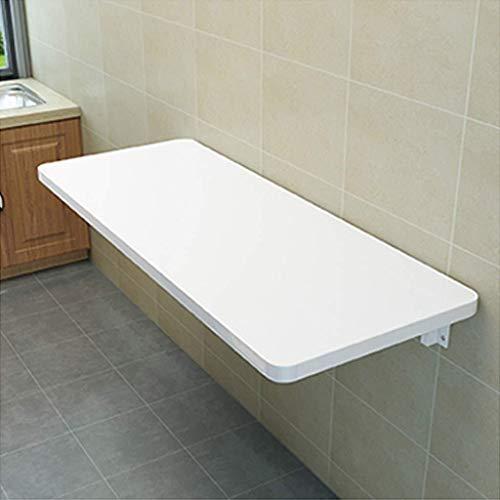 Aan de muur bevestigde klap tafel Vouwsysteem hangen tafel, kleine vouwwand, eettafel, tafel ruimtebesparing, kan opgehangen in een overdekte ruimte ruimtebesparend (Size : 40x100cm)