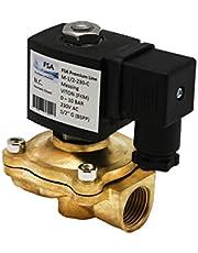 """Magneetventiel FSA Premium Line 2/2-wegs messing G1/2"""" 230V AC Viton NC 10 bar"""