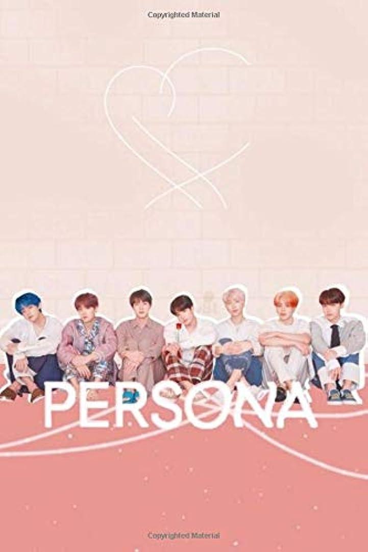 ニュース残基周術期BTS 'Persona' College Ruled Journal