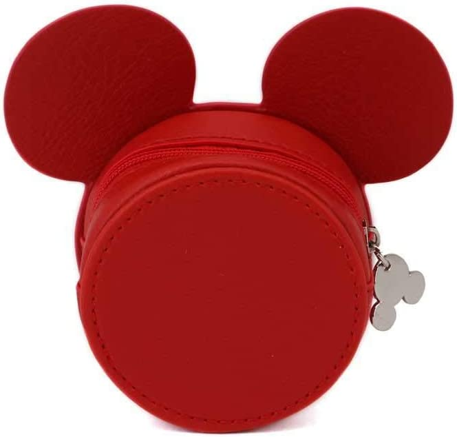Karactermania Diseny Icons Mickey Mouse-Wide Purse Coin Pouch, 12 cm,Red
