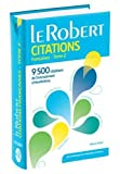 Dictionnaire de citations françaises - Tome 2 de Pierre Oster ( 27 mai 2015 ) - Le Robert (27 mai 2015) - 27/05/2015