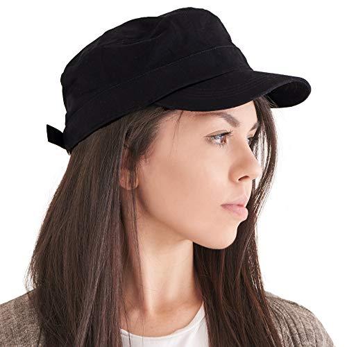 CHARM Herren Baumwolle Military Army Cap - Damen Sommer Basecap Winter Hat Mütze