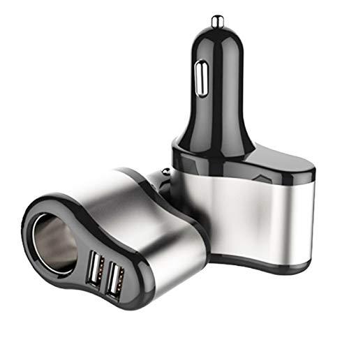 ooege OOE CARGER Dual USB CARGER CIGUARIO COMENTARIO SOCKER CARGER Adaptador 5V 3.1A Cargo (Size : A)