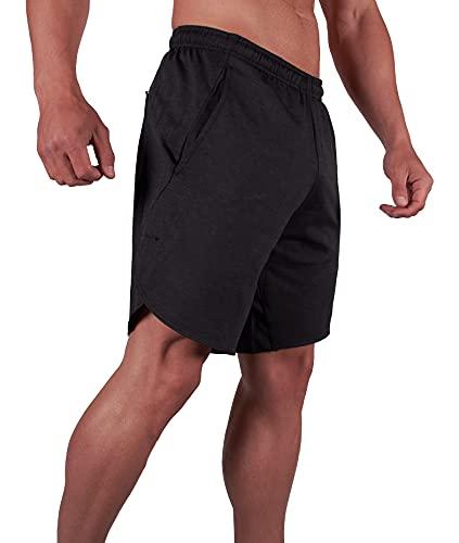 Ronex Sports Pantalones Cortos Deportivos - Pantalón Corto para Hombre Ideal para Running, Correr, Fitness y Casual