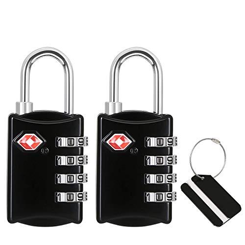 flintronic® Cerradura de Equipaje, TSA Seguridad de Candado Combinaci