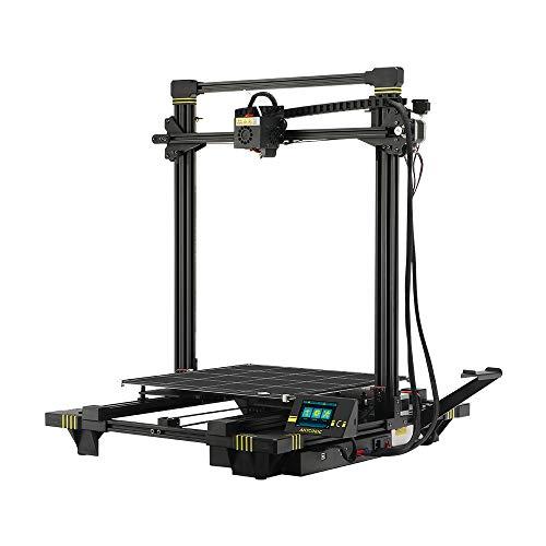 ANYCUBIC Chiron FDM 3D Drucker mit Sehr Großem Bauraum 400 x 400 x 450mm, Beheizbarem Ultrabase Pro Glasplatte, Automatisches Matrix-Leveling-System, Filament Sensor und Vollfarb-TFT Touchscreen