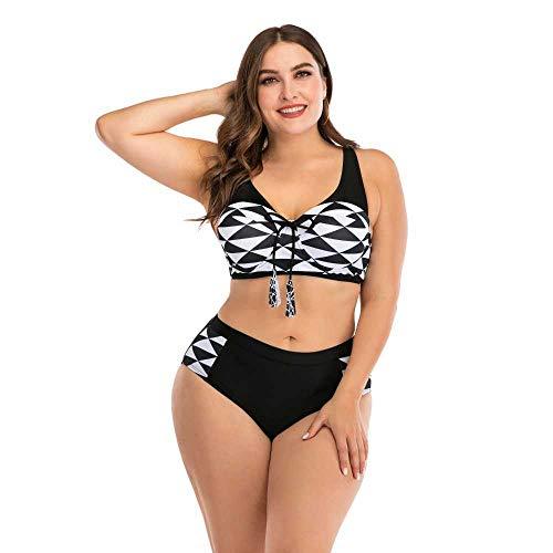 Nobrand Bikini Grande Bikini Traje de baño de Mujer Gorda