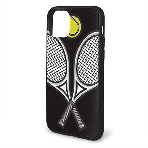 AEMAPE Raqueta de Tenis Compatible con iPhone 11 / iPhone 11 Pro/iPhone 11 Funda Protección Resistente A Prueba de Golpes Resistente Funda Blanda de TPU Resistente a los arañazos