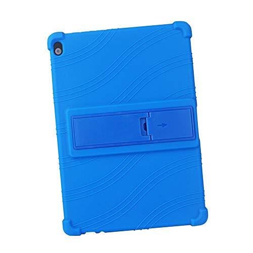 Xiedeai Custodie per Lenovo Tab P10 M10 - Supporto Silicone Morbido Skin Leggero Gomma Conchiglia Protettivo Copertina Custodie per Lenovo Tab (P10 TB-X705F)   (M10 X605)10.1  Tablet