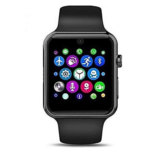 Smartwatch, SIM/TF (Micro SD), Bluetooth-Sender, Kamera und Touchscreen, Fitness, kompatibel mit Smartphones und Tablets aller Marken.