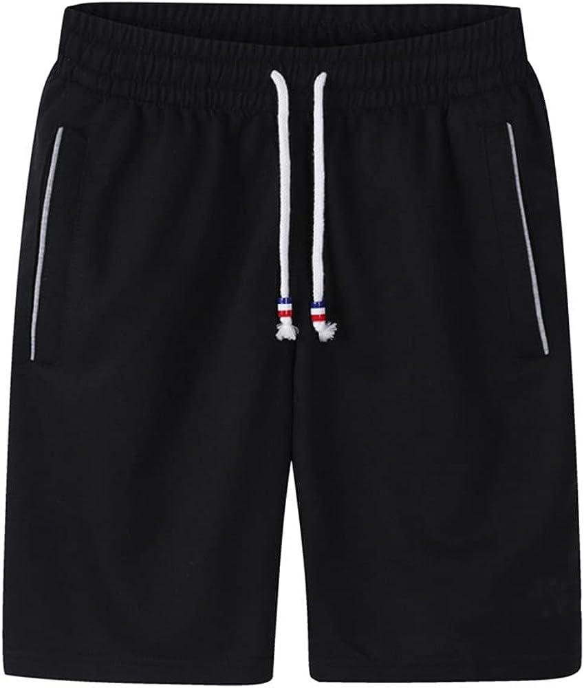 NP Men's Shorts Summer Mens Beach Shorts Cotton Casual Male Breathable