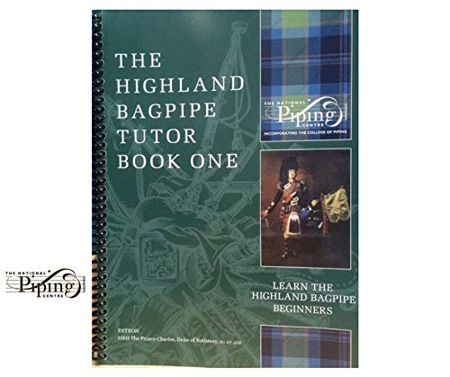 College of Piping Highland Bagpipe Tutor Part 1 Book (Green Book)