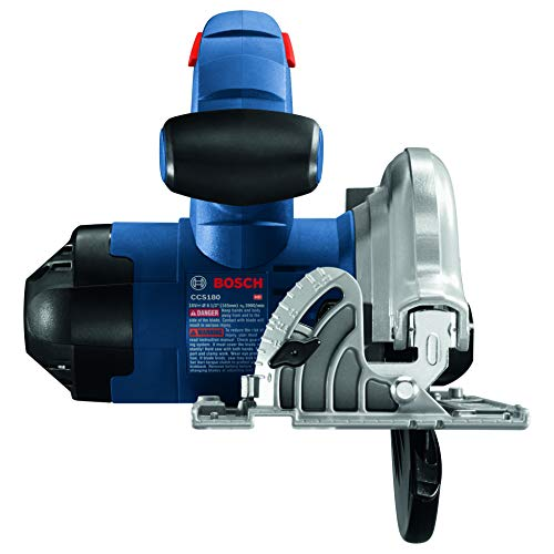 BOSCH CCS180-B14A 18V 6-1/2 In. Circular Saw Kit with (1) CORE18V 8.0 Ah Performance Battery