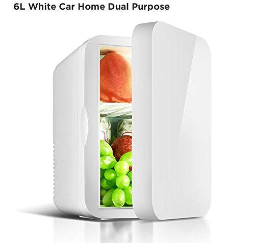 FULANTE auto koelkast, 12 V, camping, huishouden, minimaat, auto, kleine koelkast, koel- en verwarming 6 l
