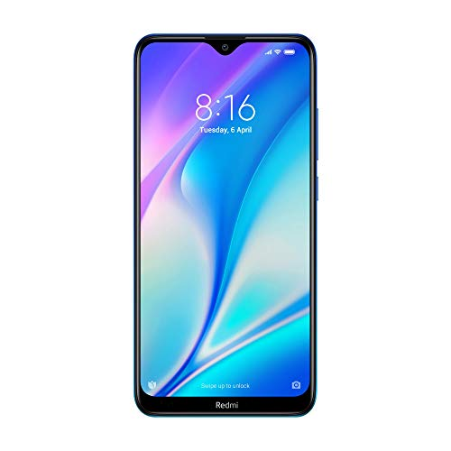 Redmi 8A Dual (Sea Blue, 2GB RAM, 32GB Storage) – Dual Cameras & 5,000 mAH Battery