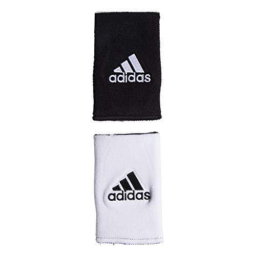 adidas Unisex Interval Large Reversible Wristband, White/Black Black/White, ONE SIZE