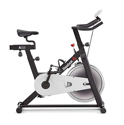 Reebok One AR Sprint Bike - 8 Niveles de inercia - 14 Kg Volante de inercia - 6.5 Kg Sistema de inercia - Peso máximo Usuario 100 Kg - Dimensiones 116x 42x100cm -