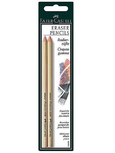 Faber-Castell Perfection Eraser Pencils (4 Packs of 2)