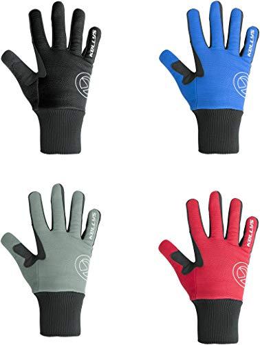 Kellys Gants d'hiver Thermiques Frosty Rouge Taille S – XL, Noir