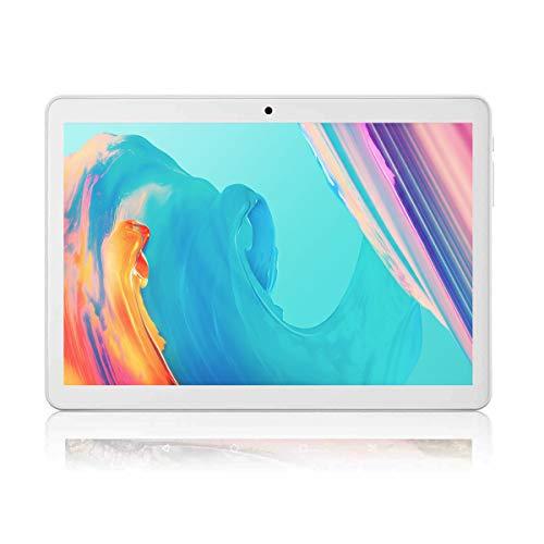 """JANWIL Tablet Android 10.0 schermo da 10"""" Quad-Core, RAM 4 GB, ROM da 64 GB, fotocamera da 5 MP + 8 MP, Wi-Fi, GPS, tipo C, 8000 mAh, batteria doppia SIM, tablet di chiamata 3 G"""