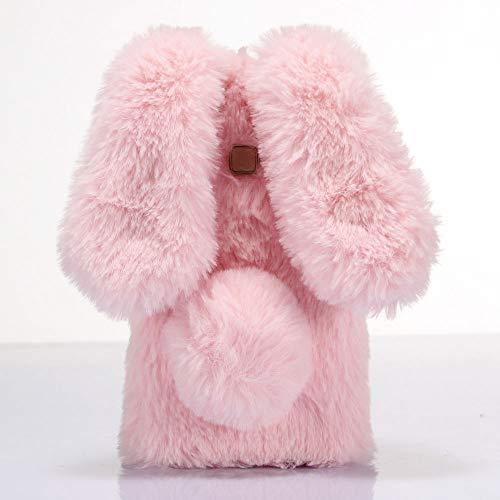ZYQ Fashion 3D Hase Handy Tasche Schütz Hülle Gel Hülle Für Archos 50f Helium Lite TPU Silikon Abdeckung Cover Etui Rosa