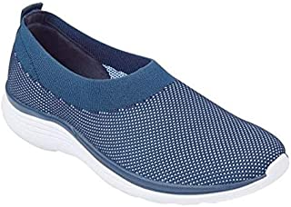 Easy Spirit Women's Gottobe Textured Walking Shoes Sneakers, Blue