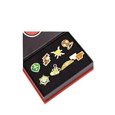 bossteng Pokemon Gimnasio Badges Set De 8 por bossteng