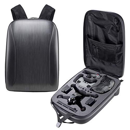 Hensen Rucksack für DJI FPV Combo, Tragbare Reise Hardshell Tasche mit Hochdichtem ABS-Material und Doppelter Eva Schwamm, Wasserbeständiges IP 6-7 Schützt für DJI FPV Combo