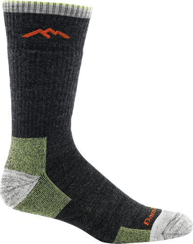 photo of a gray and red colored Darn Tough Boot Cushion Sock