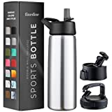 Top 10 Water Bottles with Straw Caps